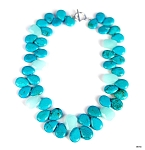 Blue Jade and Turquoise Necklace