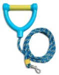 Water Ski Rope Leash Yellow/Blue