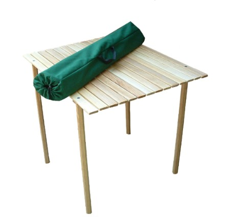 Roll Top Folding Table