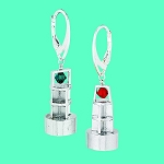Buoy Earrings Silver