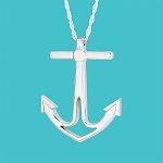 Cape Coastal Design - Anchor Necklace Large