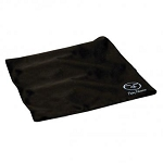FLYING FISHERMAN 7610 CLEANING CLOTH, MICROFIBER, BLACK