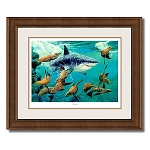 Guy Harvey Jeopardy with frame