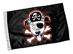Pirate Dog Flag
