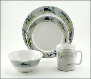Galleyware Company Melamine Great Oceans 16 Piece Set