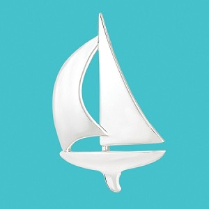 Cape Coastal Design - Sailboat Pendant