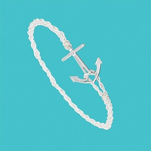 Cape Coastal Design -  Anchor Bracelet