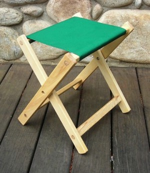 The Deluxe Folding Stool