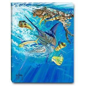 Guy Harvey, Marlin and Dolphin, Ltd.Edition Print