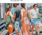 Derick Crenshaw Hot Dogs Print