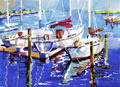 Intracoastal Marina Print