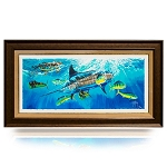 Guy Harvey Depth Charge with frame