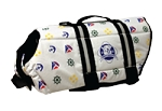 Nautical Doggy Life Jacket Medium