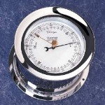 Weems & Plath Atlantis Chrome Barometer