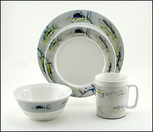 Melamine Great Oceans 16 Piece Set