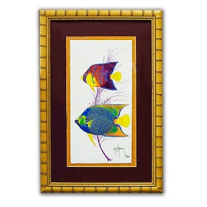 Guy Harvey Angels of the sea with frame