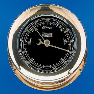 Weems & Plath Atlantis Premiere Barometer (Black)